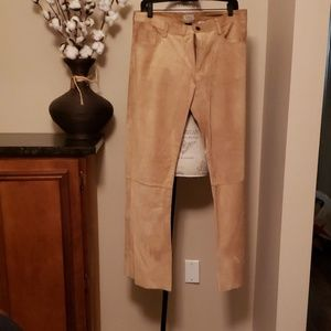 Abercrombie  & Fitch suede pants